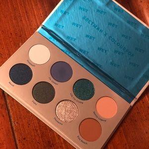 Colourpop BretmanRock Wet Eyeshadow Palette